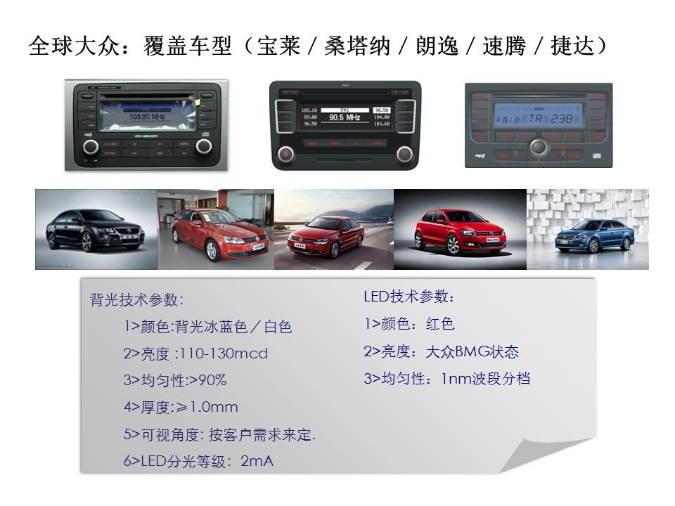 全球VW---G平台